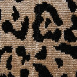 Safari Upholstery Swatch - Leopard Chenille