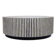 Makayla Bone Inlay Coffee Table - Black