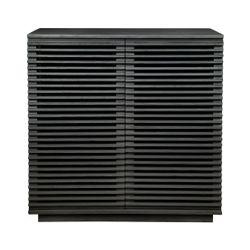 Bahama Oak Cabinet - Black