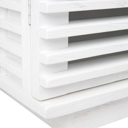 Bahama Oak Cabinet - White