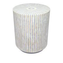 Makayla Side Table - Grey
