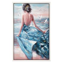 Lady of Spain Enhanced Canvas Print