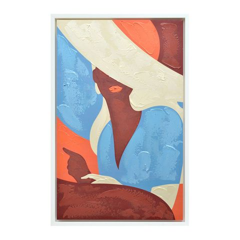 Lady Marmalade Enhanced Canvas Print