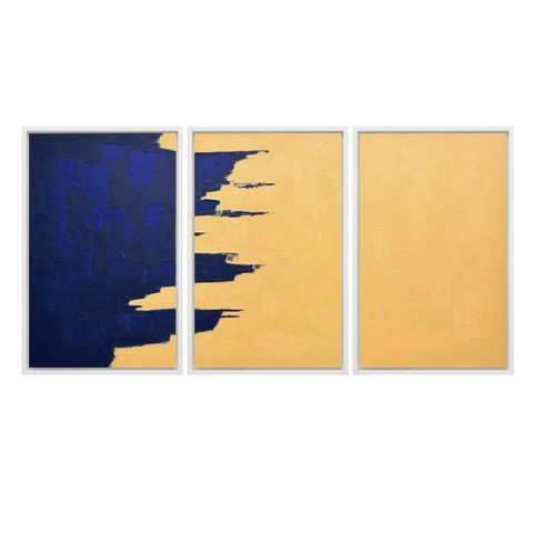 Stormy Monday Blues Canvas Painting Set