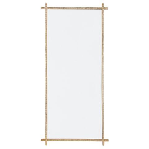Oliverio Floor Mirror - Gold