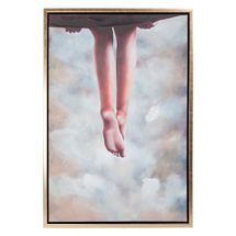 Hanging In There Enhanced Canvas Print