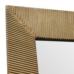 August Floor Mirror Slender - Gold
