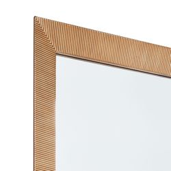 August Floor Mirror - Gold