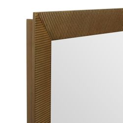 August Wall Mirror - Gold