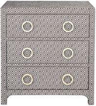 Raffles Upholstered Bedside Table