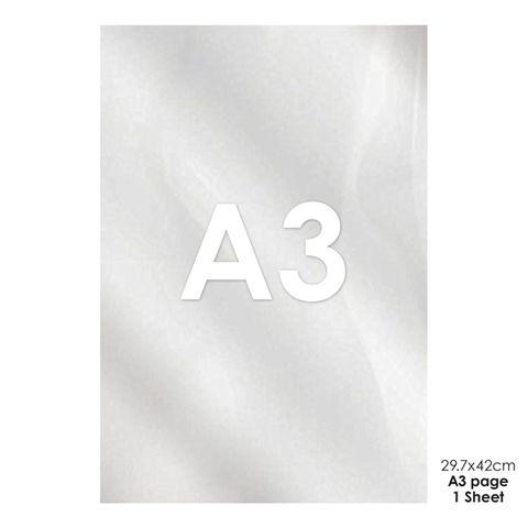ACETATE SHEET   A3 SIZE (42CM x 29.5CM)