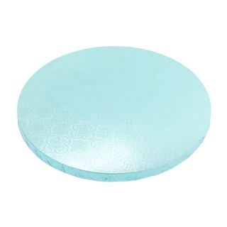 CAKE BOARD | BLUE | 8 INCH | ROUND | MDF | 15MM THICK