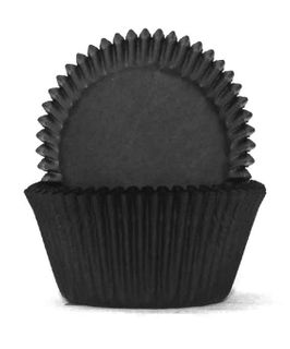 700 BAKING CUPS - BLACK - 100 PIECE PACK