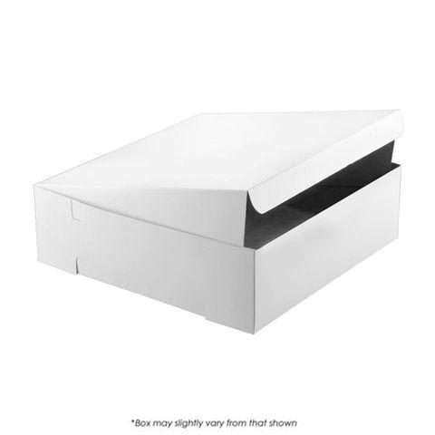 12X12X4 INCH CAKE BOX | UNCOATED CARDBOARD