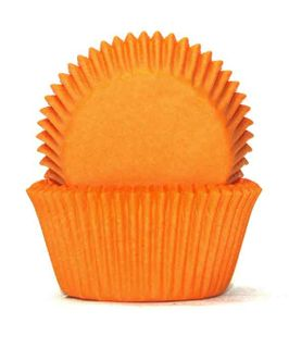 700 BAKING CUPS - ORANGE - 100 PIECE PACK