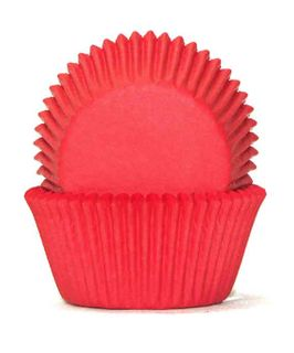 700 BAKING CUPS - RED - 100 PIECE PACK