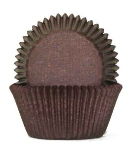 700 BAKING CUPS - CHOCOLATE BROWN - 100 PIECE PACK