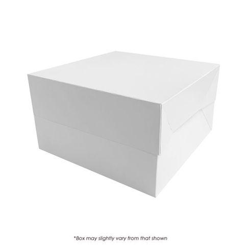 12X12X6 INCH CAKE BOX | 2 PIECE | PE COATED