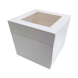 16X16X12 INCH CAKE BOX | TOP WINDOW | MILK CARTON