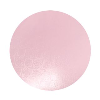 CAKE BOARD | PINK | 7 INCH | ROUND | MDF | 6MM THICK