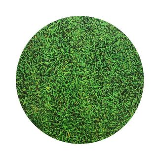 CAKE BOARD | GRASS DESIGN | 8 INCH | ROUND | MDF | 6MM THICK