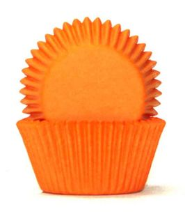 408 BAKING CUPS - ORANGE - 100 PIECE PACK
