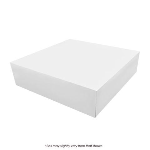 12X12X2.5 INCH CAKE BOX | PE COATED