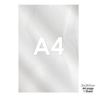 ACETATE SHEET | A4 SIZE (29.5CM x 21CM)