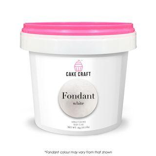 CAKE CRAFT   FONDANT   WHITE   1KG