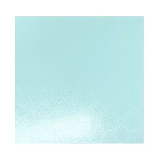 CAKE BOARD | BLUE | 8 INCH | SQUARE | MDF | 6MM THICK