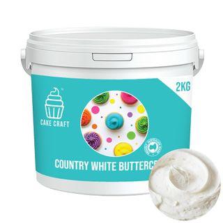 CAKE CRAFT | BUTTERCREAM | COUNTRY WHITE | 2KG