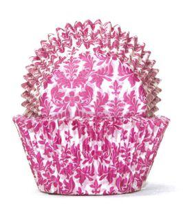 700 BAKING CUPS - PINK HIGH TEA - 100 PIECE PACK