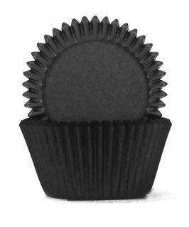 408 BAKING CUPS - BLACK - 100 PIECE PACK