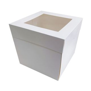 14X14X12 INCH CAKE BOX | TOP WINDOW | MILK CARTON