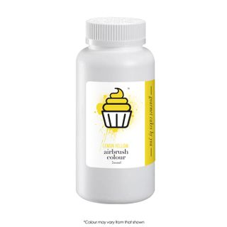 CAKE CRAFT | AIRBRUSH COLOUR | LEMON YELLOW | 500ML