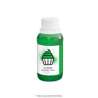 CAKE CRAFT | AIRBRUSH COLOUR | CHOC MATT | GREEN | 50ML