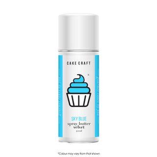 CAKE CRAFT   SPRAY BUTTER VELVET   SKY BLUE   400ML