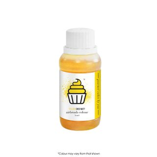 CAKE CRAFT | AIRBRUSH COLOUR | CHOC MATT | YELLOW | 50ML