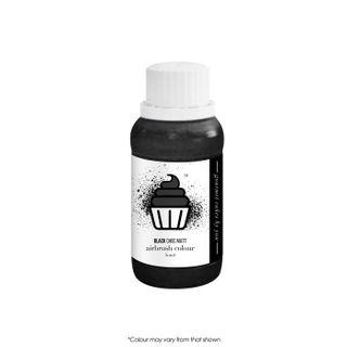CAKE CRAFT | AIRBRUSH COLOUR | CHOC MATT | BLACK | 50ML