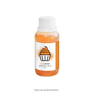 CAKE CRAFT | AIRBRUSH COLOUR | CHOC MATT | ORANGE | 50ML