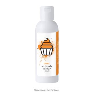 CAKE CRAFT | AIRBRUSH COLOUR | ORANGE | 190ML