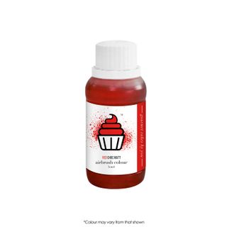 CAKE CRAFT | AIRBRUSH COLOUR | CHOC MATT | RED | 50ML