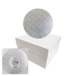 CAKE CRAFT | CAKE BOARD/BOX COMBO | 8 INCH