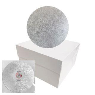 CAKE CRAFT | CAKE BOARD/BOX COMBO | 10 INCH