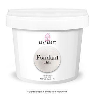 CAKE CRAFT | FONDANT | WHITE | 5KG