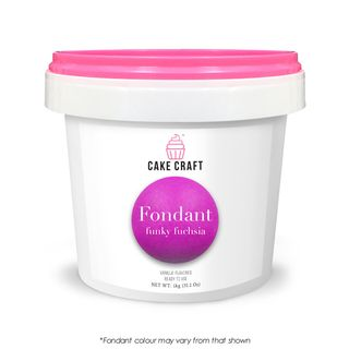 CAKE CRAFT | FONDANT | FUNKY FUCHSIA | 1KG
