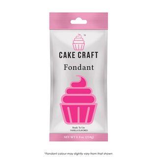 CAKE CRAFT | FONDANT | ROSY PINK | 250G