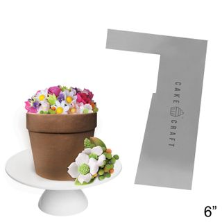 CAKE CRAFT | BUTTERCREAM COMB | FLOWER POT | 6 INCH