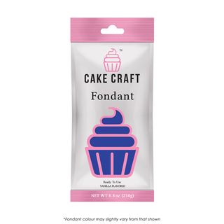 CAKE CRAFT | FONDANT | ROYAL BLUE | 250G