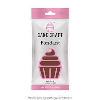 CAKE CRAFT | FONDANT | JAVA BROWN | 250G
